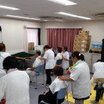 東京在宅サービスのボランティアマッサージ写真