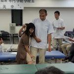 訪問マッサージ東京在宅サービス/脳卒中リハビリ講習会/姿勢制御3