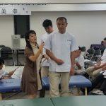 訪問マッサージ東京在宅サービス/脳卒中リハビリ講習会/姿勢制御6