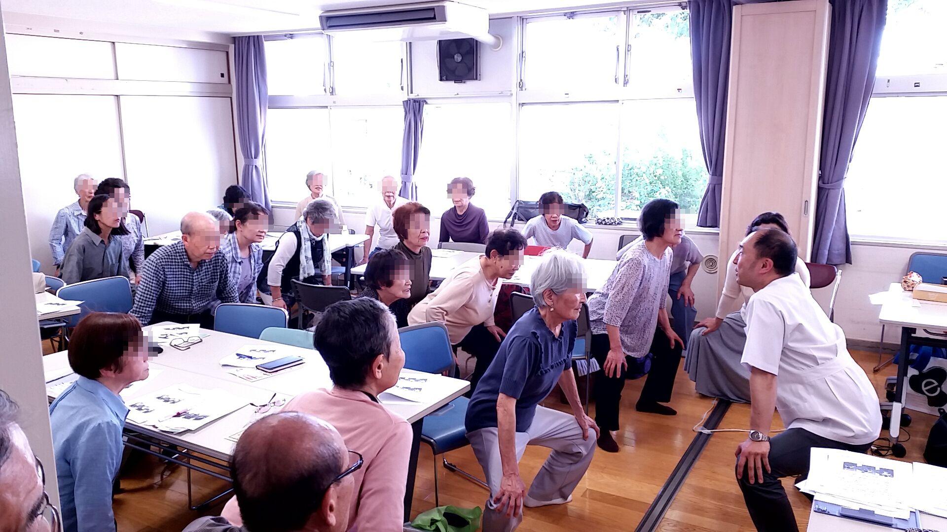 訪問マッサージ 東京在宅サービスの研修会活動/杉並区きずなサロン