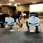 訪問マッサージ東京在宅サービスの外部講習活動 腰痛予防のセルフケア@マイルドハート高円寺_5