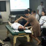 東京在宅サービスの社内勉強会 井上PTによる肩関節周囲炎リハビリテーション_実践7