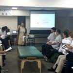 東京在宅サービスの社内勉強会 井上PTによる肩関節周囲炎リハビリテーション_講義3