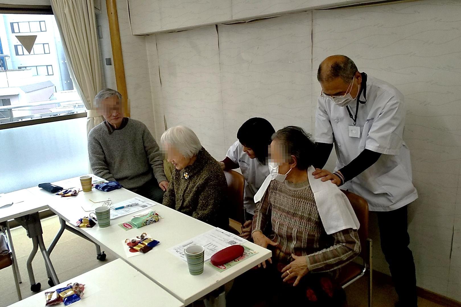 中野区 訪問マッサージ 東京在宅サービスの研修会活動/やよいの園家族介護教室