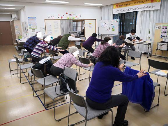 豊島区/東京在宅サービスの研修会活動/東池袋フレイル対策センター
